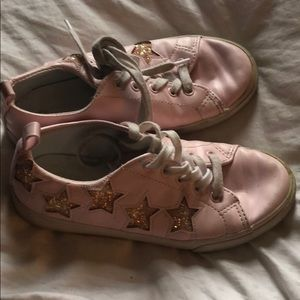 Pink with stars shoes